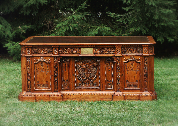 Prices The Resolute Desk All Products Leather Tops Desk Finishes